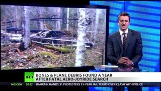 Mystery Jet: 'Ghost' plane found year after fatal joyride in Russia