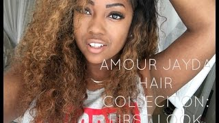amour jayda hair collection initial unboxing