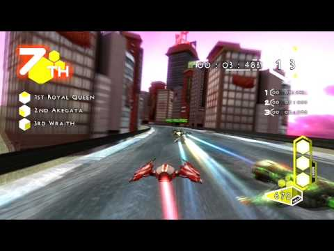 Antigrav Racing Championship gameplay trailer