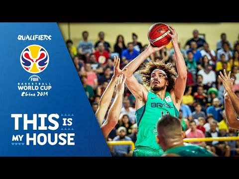 Anderson Varejao with 14 PTS / 13 REB / 8 AST - FIBA Basketball World Cup 2019 - Americas Qualifiers
