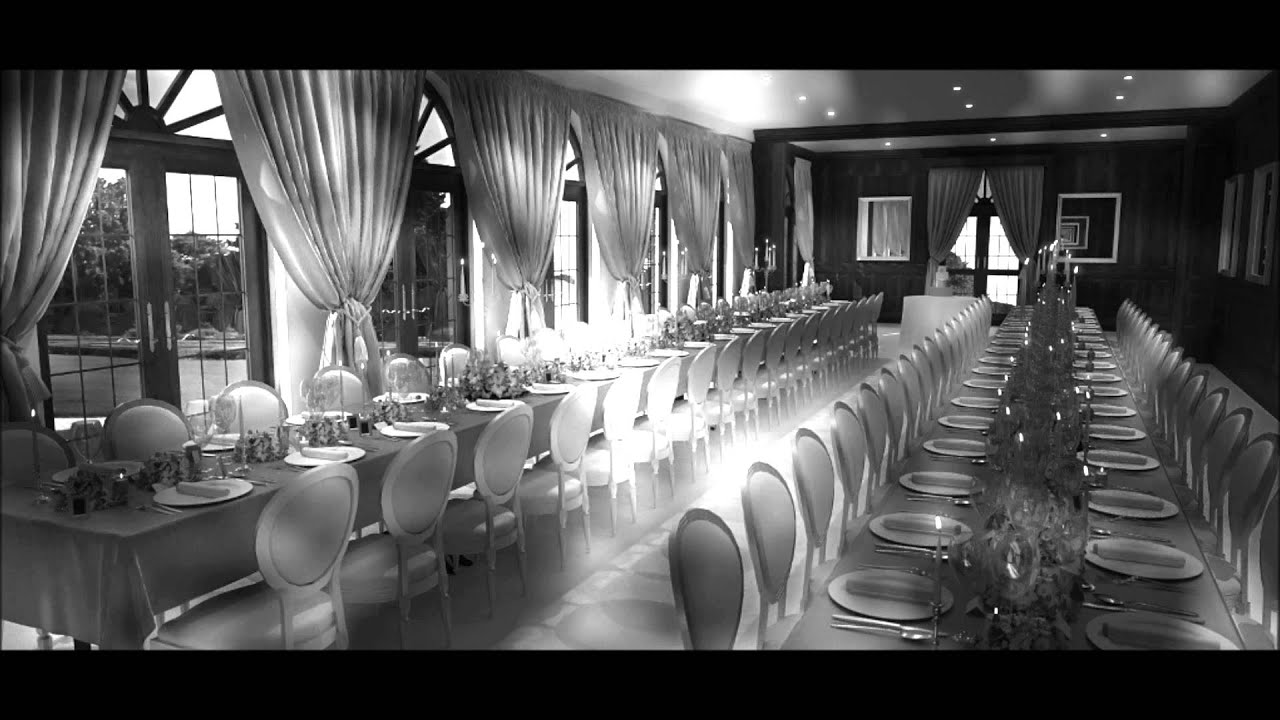 Wedding Event Design 3D Interior Render Visualisation Using Maxwell Sketchup