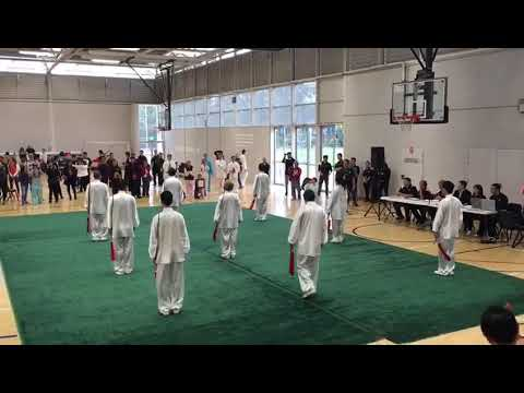 2016 Oceania Wushu Competition Group Tai Chi Sword (Gold Medal)
