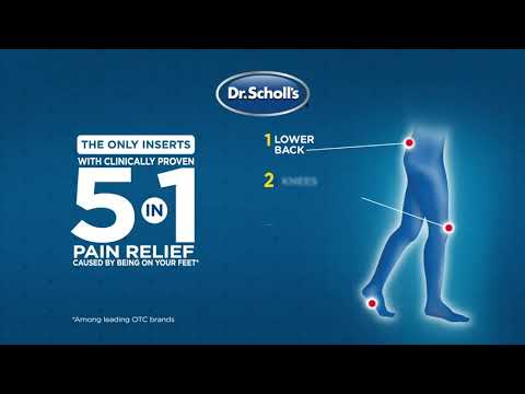 Dr. Scholl's | How Custom Fit Orthotics Work to Relieve 5 Lower Body Pains
