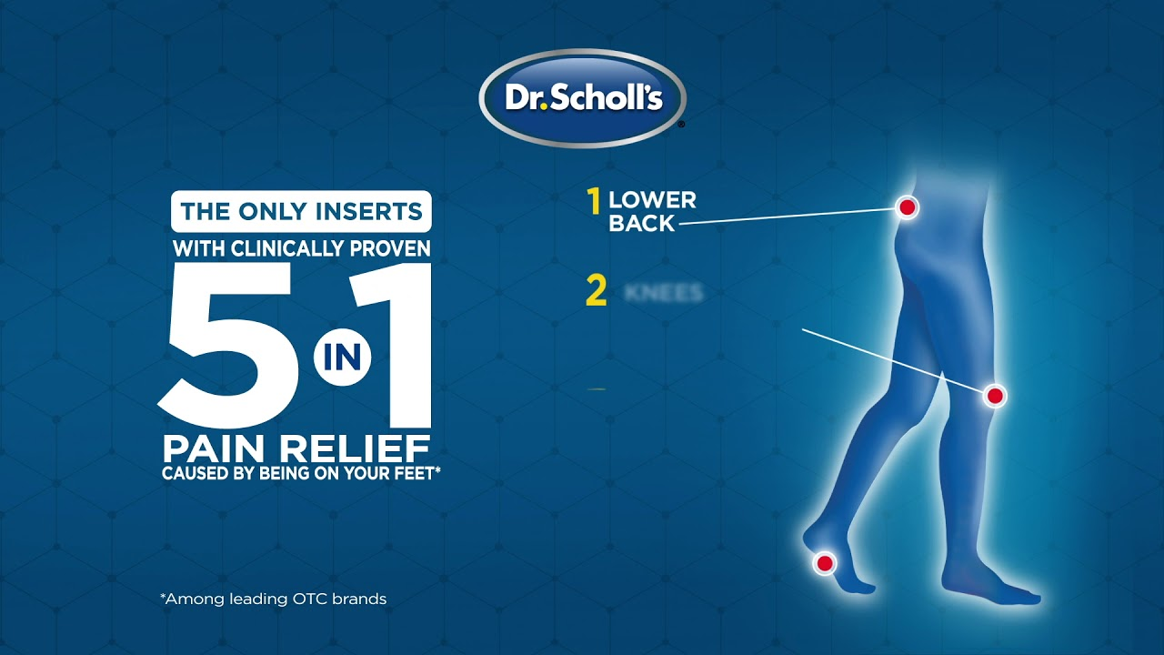 Dr. Scholl's® Custom Fit Orthotics for Foot, Knee or Back ... on dr scholl's massager with heat, dr scholl's feet, dr scholl's massaging machine percushion,
