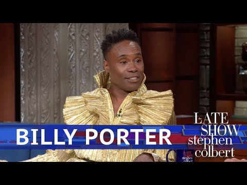 Billy Porter thinks there's a big problem with how we respond to men in dresses