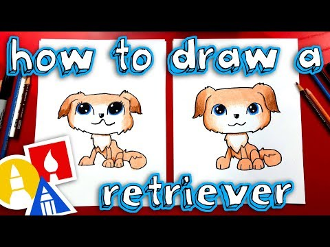 How To Draw Littlest Pet Shop - Golden Retriever