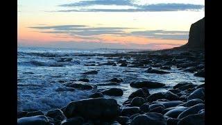 Walking the Welsh Coast-path -The Glamorgan Heritage Coast, South Wales.