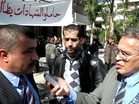 Grève Poste Maroc(dont Diplômés)17/03/2011 CDT+UMT (1)