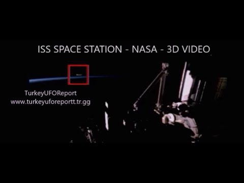 ***LIVE***UFO AND SPACE STATION*3D VIDEO-USE 3D GLASSES(OPTIONAL)