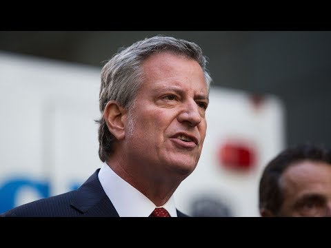 Watch live: NYPD, NYC Mayor de Blasio update on pipe bombs
