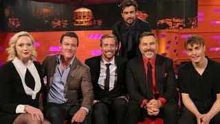 The Graham Norton Show S25E07 Luke Evans, David Walliams,Gwendoline Christie, Peter Crouch
