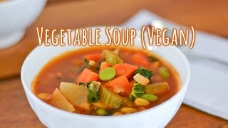 | Recipe | Vegan Vegetable Soup