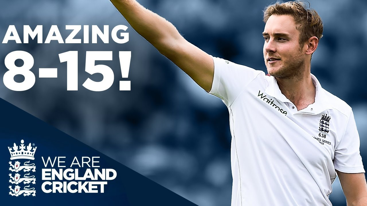 Download Stuart Broad's Incredible 8 For 15! | Unbelievable Bowling Spell | The Ashes 2015 | England Cricket