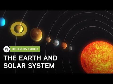 Threshold 4: Earth & Solar System   Big History Project