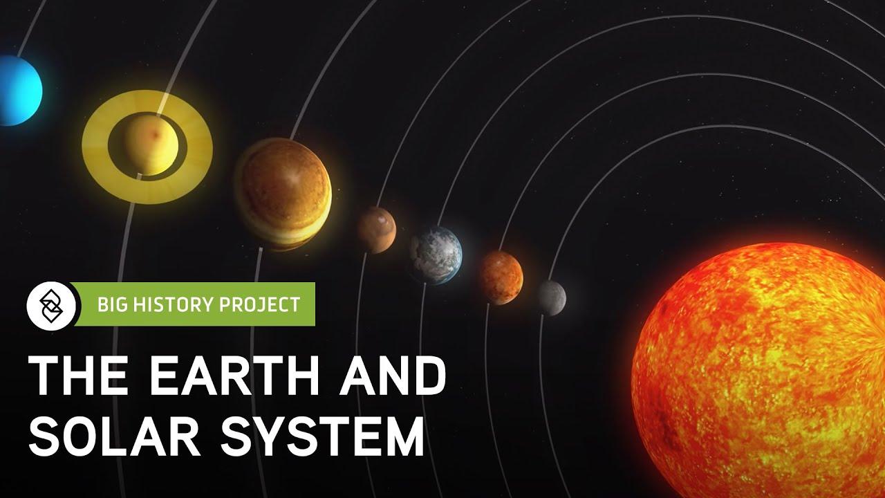Threshold 4: Earth & Solar System | Big History Project ...