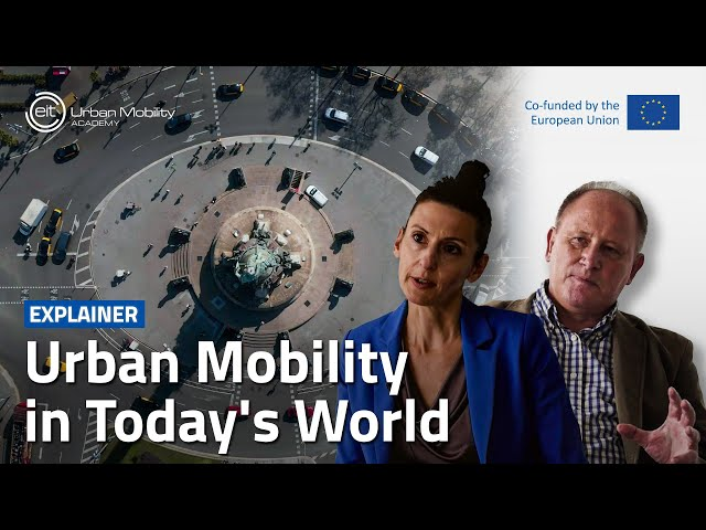 What are the urban mobility challenges?