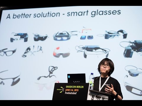 #droidconDE 2015: Ahmet Yildirim & Whui mei Yeo – Augmented reality with smart glasses on YouTube