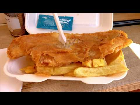 Manchester: Lunch At Wright's Fish & Chips - My Favorite Chip Shop!