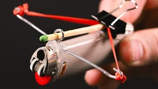 COOL CUSTOM FIRE CROSSBOW EXPERIMENT