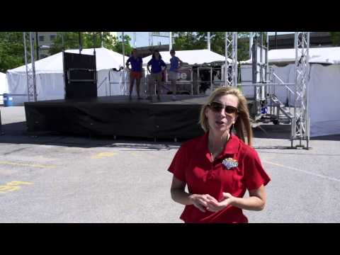 Omaha Baseball Village - The Stage