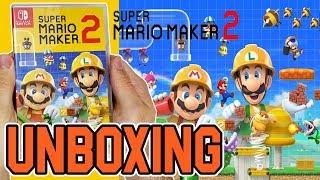 Super Mario Maker 2 (Nintendo Switch) Unboxing!!