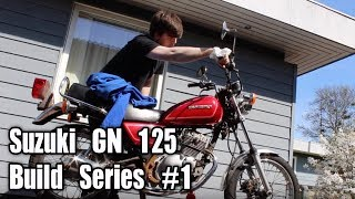 My first motorcycle Build! Suzuki [Bike Rebuild Season 2] episode 1