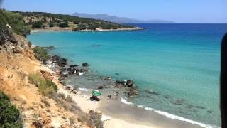 Греция,Крит,красивый пляж,Истро,июнь 2012.(Это видео загружено с телефона Android., 2012-07-07T20:58:39.000Z)