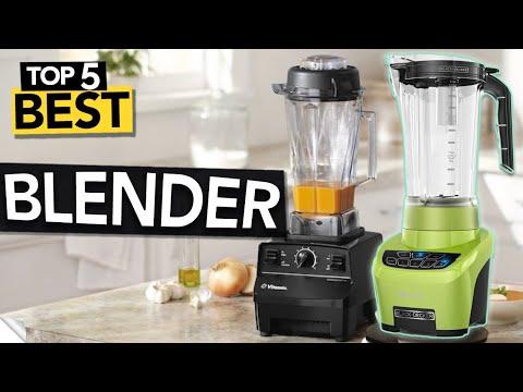 ✅ TOP 5: Best Blenders in 2020 (4 smoothies, protein shakes & juices)