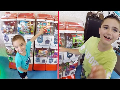 VLOG - Machines à Pinces, Jeux et Distributeurs de Boules Surprises - Fun Indoor HAPPY CITY