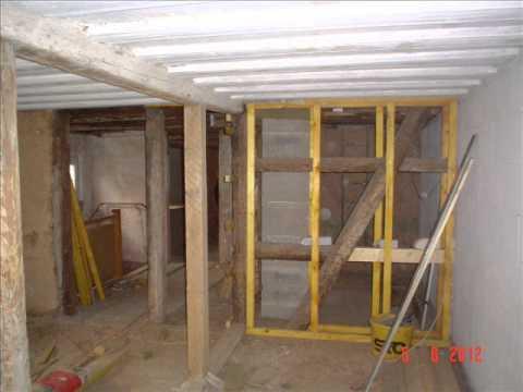 Fachwerkhaus Sanierung 001 Wohnzimmer Youtube