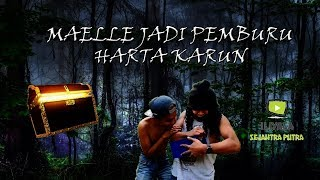 Maelle Berubah Profesi Menjadi Pemburu Harta Karun, Gokil Abis !!!