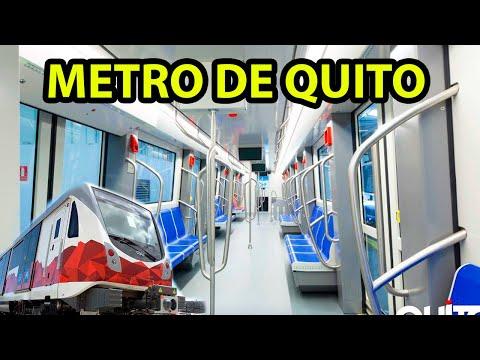 El Metro de Quito 2019. | Me subí en el Metro de Quito . Albert Oleaga. Ecuador