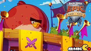Angry Birds Epic - New Player Vs Player Gameplay Walkthrough