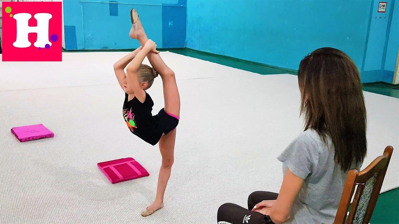 ПОСЛЕДНЯЯ Индивидуальная тренировка // МАСТЕРСТВО с обручем / Художественная гимнастика / булавы