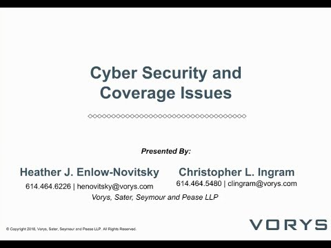 Cyber Security and Coverage Issues for the Consumer Financial Services Industry