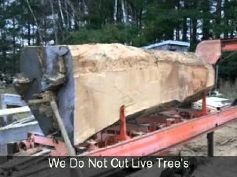 Walnut Live Edge harvest Table & Wood Slab Furniture Toronto  TREEGREENTEAM.COM - YouTube