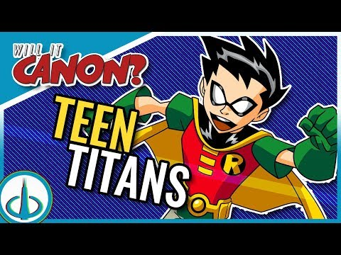 TEEN TITANS vs The DCAU - The Same Universe? | Will It Canon?