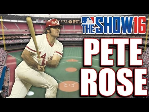 MLB THE SHOW 16 LEGEND - PETE ROSE - Player Lock Ep.145