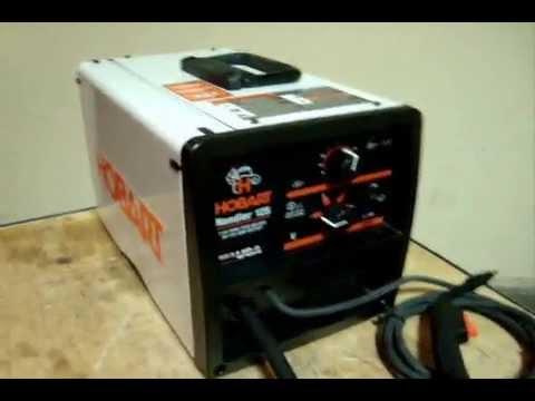 Hobart Handler 125 Wire Welder Test - YouTube