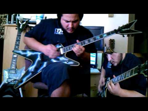 Pantera - Cowboys from Hell - Guitar cover - by ( Kenny Giron) kG