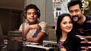 voices of s3 songs meet the singers of singam 3   harris jayaraj song making