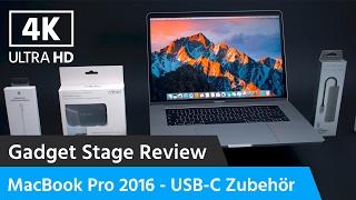 MacBook Pro (Touch Bar) 2016 - Sinnvolles USB-C Zubehör und Tipps