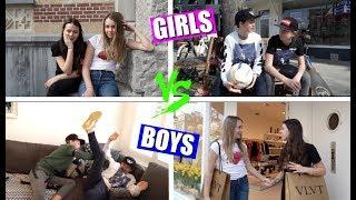 GIRLS VS BOYS! | Deel 3