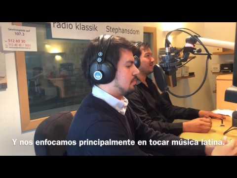 Oscar Mendoza - Interview on Radio Klassik Stephansdom part II