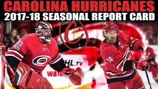 Carolina Hurricanes Seasonal Report Card (2017-18)