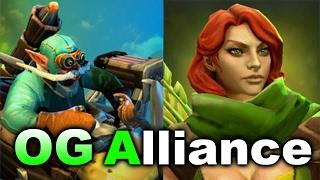 OG vs ALLIANCE - Elimination Mode 3.0 Dota 2