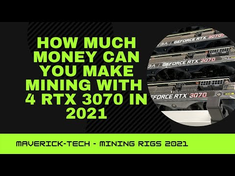4GPU Mining Rig RTX 3070 | ROI Calculator | Ethereum Mining
