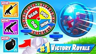 BALLER ROULETTE *NEW* Game Mode in Fortnite Battle Royale