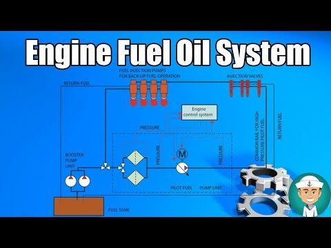 Engine Fuel Oil System
