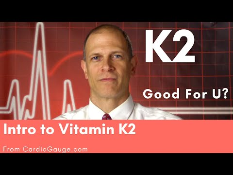 Intro to Vitamin K2. K2 has promise as a heart health supplement. Some of the Evidence.